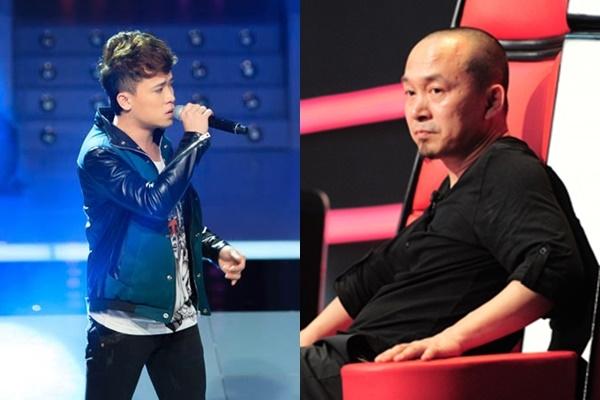 Quốc Trung cho rằng chàng ca sĩ trẻ Văn Tây như đang giận ai đó và bị ép phải lên sân khấu biểu diễn. - Tin sao Viet - Tin tuc sao Viet - Scandal sao Viet - Tin tuc cua Sao - Tin cua Sao