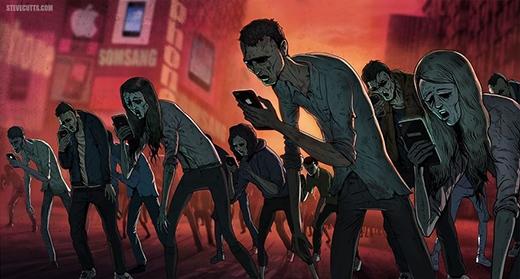Điện thoại di động đang biến chúng ta thành những cái xác sống.