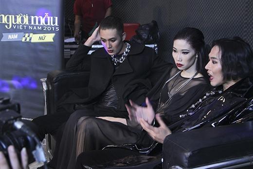Trong phần thi chụp ảnh, không khí đã trở nên căng thẳng khi Thành An thẳng thắn chỉ trích Đinh Đức Thành vì không thể hiện được vai trò thủ lĩnh khiến cả 3 không thể hợp tác ăn ý.