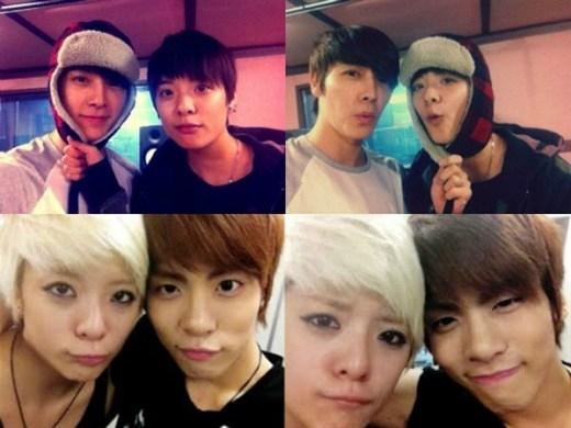 Vừa ra mắt,Amberđã gây chú ý vì gương mặt có nhiều nét giống vớiJonghyun (SHINee)vàDonghae. Thậm chí, cả ba còn có fansite riêng mang tênThe Dinorsaur(khủng long) hệt như biệt danh các fan ưu ái đặt cho.