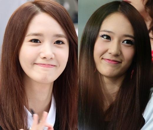 Những ngày đầu mới ra mắt cùng f(x), nhiều fan đã đùa rằng Krystal trông giống em gái của Yoona hơn cả chị gái ruột Jessica.