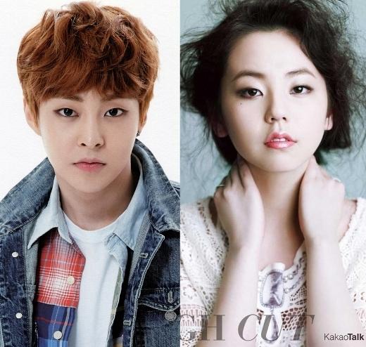 Với đôi mắt một mí đúng chuẩn Hàn Quốc cùng nụ cười tỏa nắng, Xiumin (EXO) và Sohee cũng giống nhau khiến nhiều người không khỏi ngỡ ngàng.