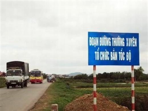 Các lái xe chú ý!