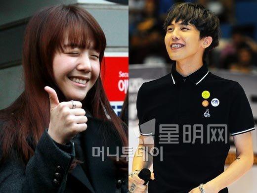 Minah (Girl's Day) và G-Dragon đều sở hữu những nụ cười thiên thần.