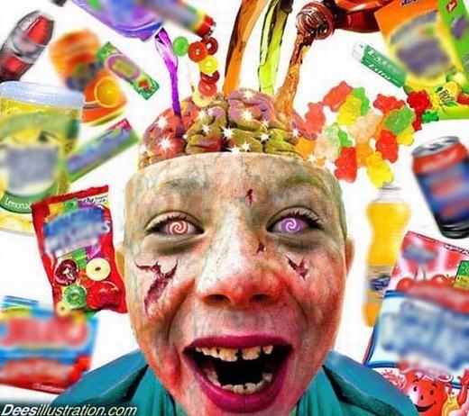 Đồ uống, thức ăn nhanh... chính là thứ biến trẻ em thành 'ma quỷ'.