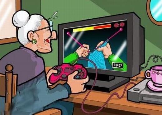 Cụ già thời công nghệ...