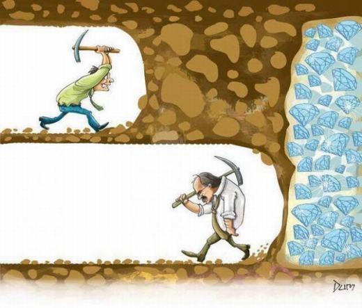 Đừng nên nản chí trước niềm đam mê của mình, bởi khoảng cách giữa bỏ cuộc và thành công đôi khi rất mong manh!