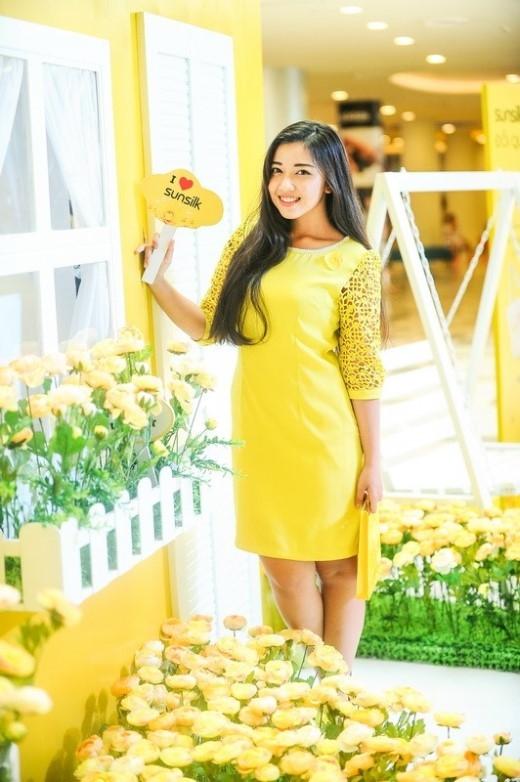 Bảo Trân, nữ sinh duyên dáng trường Minh Khai.