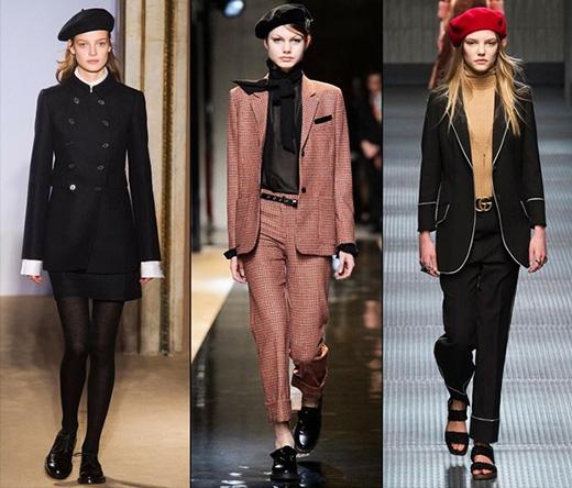 Chiếc mũ mang âm hưởng thời trang thập niên 70 của thế kỉ trước bất ngờ quay lại và chiếm lĩnh vị thế hàng đầu trong mùa Thu - Đông 2015. Dù được các nhà mốt danh tiếng lăng xê từ đầu năm 2015 trên những sàn diễn danh giá nhưng trong khoảng một tháng trở lại đây mũ bê-rê mới thực sự phủ sóng rộng khắp trong giới mộ điệu thời trang.