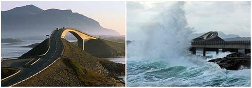 12 cây cầu kết nối các đảo dọc theo bờ biển phía Bắc Đại Tây Dương. Khi du ngoạn qua các con đường này, bạn sẽ cảm nhận được một không khí trong lành và vô cùng tự do.