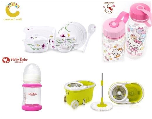 Sản phẩm gia dụng cho mẹ và bé từ nhãn hàng Lock&Lock với giá ưu đãi từ 30% - 50%.