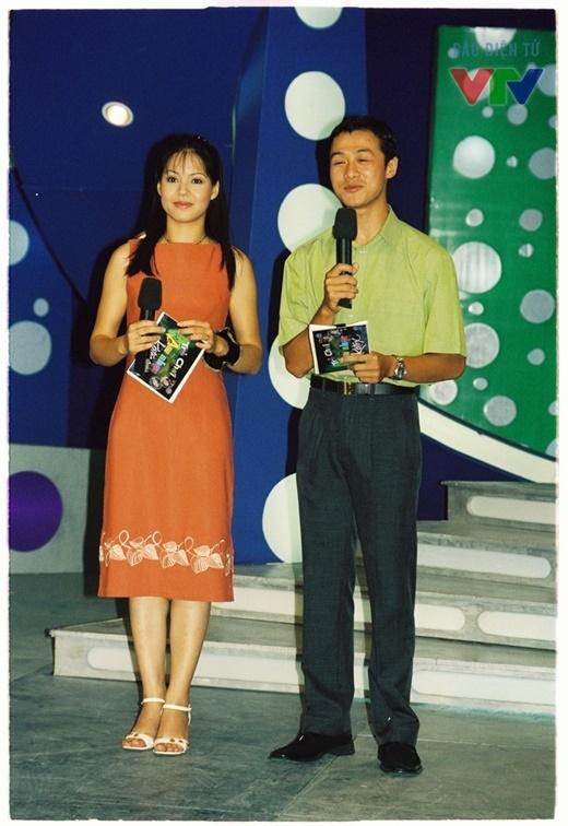 BTV Diễm Quỳnh và Anh Tuấn là cặp đôi MC quen thuộc của Trò chơi âm nhạc. - Tin sao Viet - Tin tuc sao Viet - Scandal sao Viet - Tin tuc cua Sao - Tin cua Sao