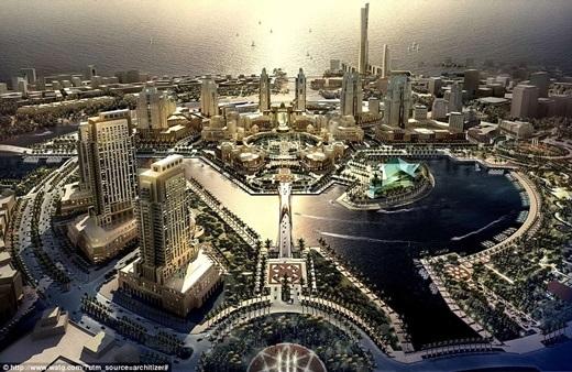 Ả Rập Saudi là một trong những quốc gia hiếm hoi trên thế giới… không có sông.