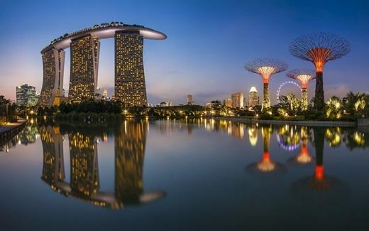 Singapore – quốc gia không có xe máy cày. Bởi nơi đây không hề có bất cứ đồng ruộng hay trang trại nào.