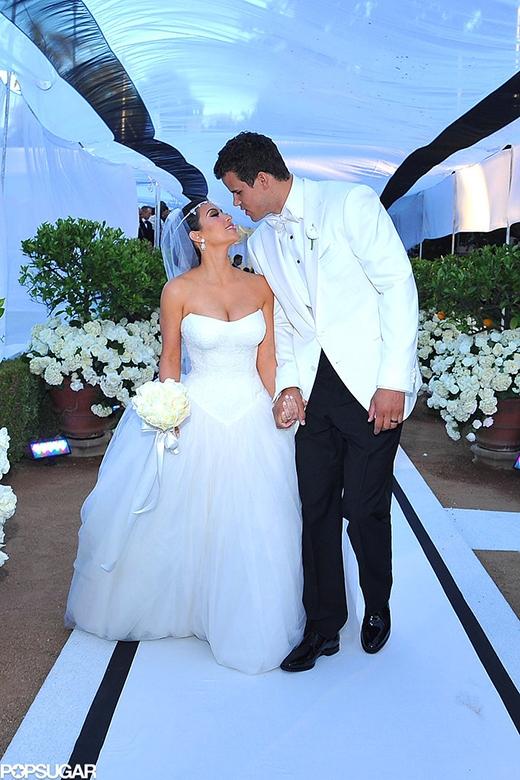Kim Kardashian và Kris Humphries đã có cuộc hôn nhân... 72 ngày tại Los Angeles vào tháng 8/2011.