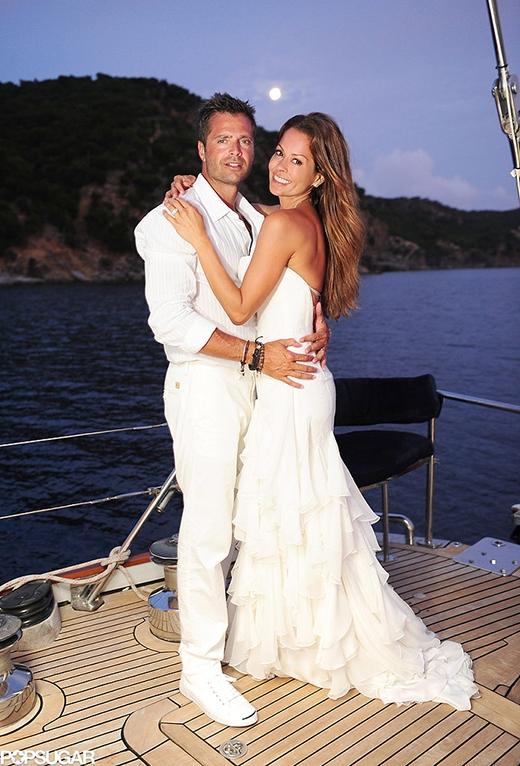 Lễ thành hôn của Brooke Burke và David Charvet được tổ chức vào tháng 8/2011 tại St. Barts.