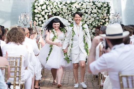 Beth Ditto và Kristin Ogata tổ chức lễ cưới vào tháng 7/2013 tại hòn đảo Maui, Hawaii.