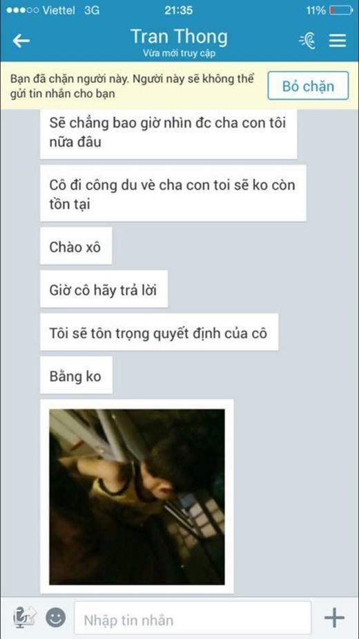 Dương Yến Ngọc cung cấp tin nhắn và bằng chứng mà chồng cũ của cô đe dọa. - Tin sao Viet - Tin tuc sao Viet - Scandal sao Viet - Tin tuc cua Sao - Tin cua Sao