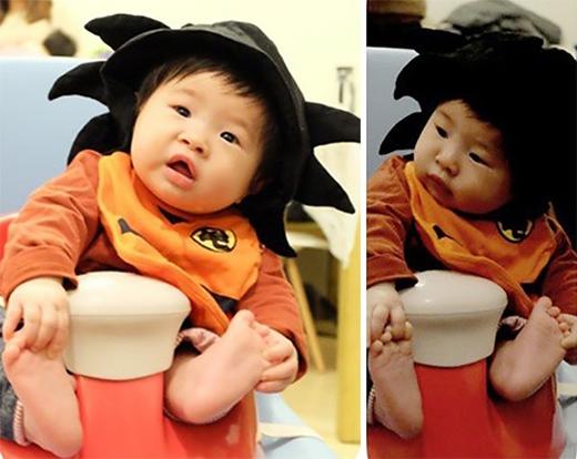 Có phải chăng Songoku lúc nhỏ trông cũng như thế này?