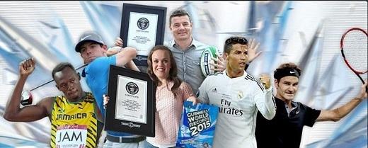 Cầu thủ bóng đá Cristiano Ronaldo và nhiều nhân vật nổi tiếng trong làng thể thao nhận kỉ lục Guinness thế giới. Ngôi sao thuộc biên chế Real Madrid lập nhiều hat-trick nhất ở La Liga. Anh có 27 trận ghi 3 bàn cho Real Madrid tại giải vô địch quốc gia Tây Ban Nha.