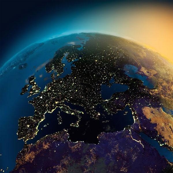 Một góc nhìn khác về châu Âu.