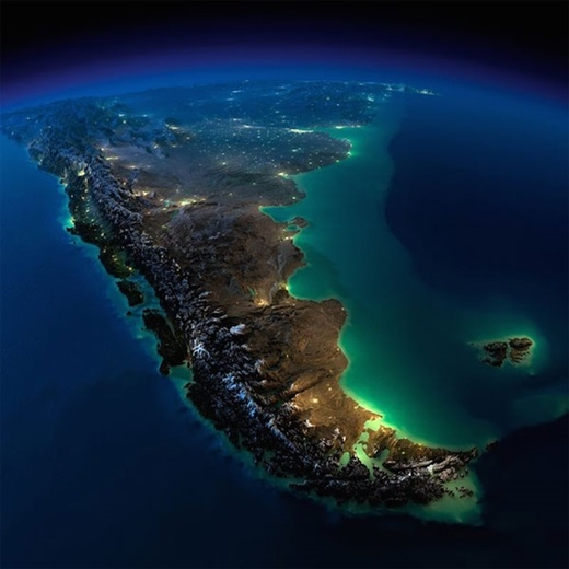 Nam Mỹ - Argentina và Chile.