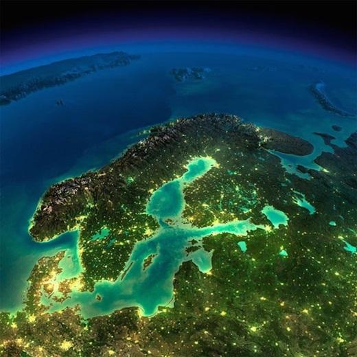 Châu Âu - Scandinavia.