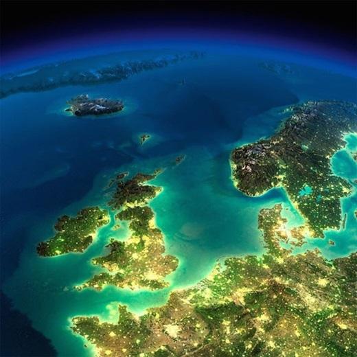 Khu vực Bắc Âu.