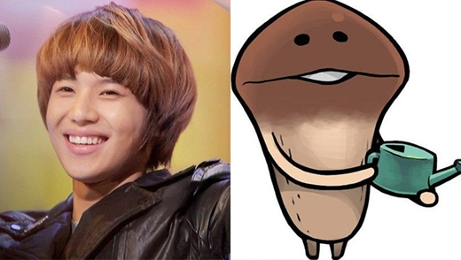 Bạn có thấy Taemin và Nameco giống nhau không?