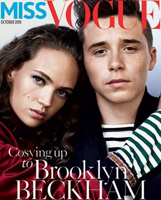 Hot boy nhà Becks vừa được chọn làm gương mặt trang bìa của tạp chí thời trang danh tiếng.