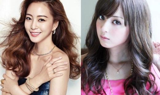 Han Ye Seul và Nozomi Sasaki đều trông rất thanh lịch và xinh đẹp.