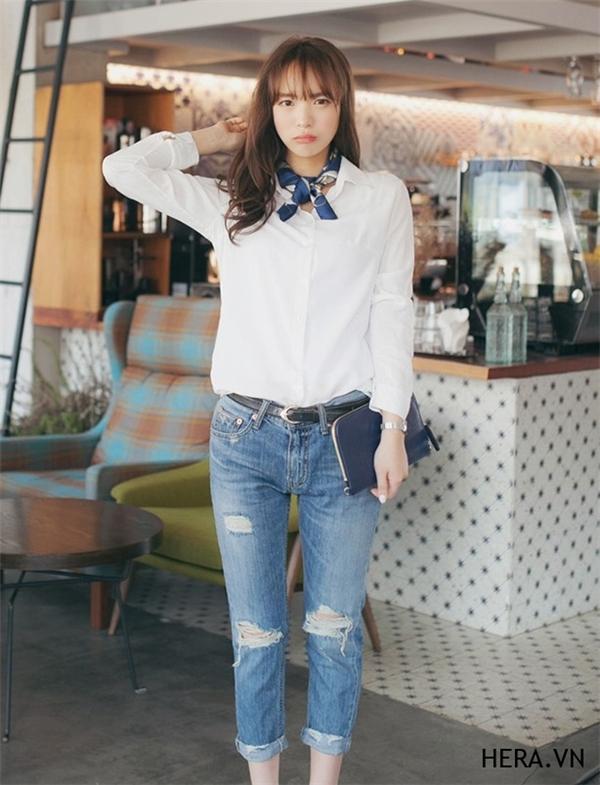 Tự tin mặc đẹp với thời trang jeans trong mùa hè này!