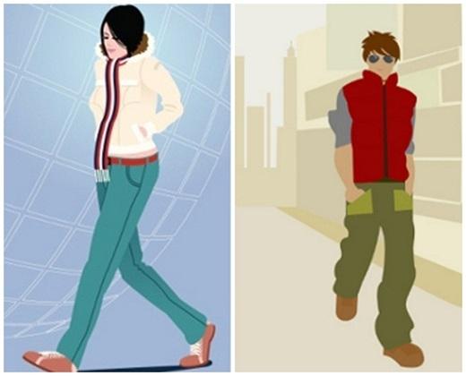 Những người đi bộ với tốc độ chậm, dáng vẻ nhàn nhã, luôn bước đi như kiểu thể họ đang đi dạo cũng phần nào nói lên họ là người bình tĩnh, không nóng vội. (Ảnh minh họa)