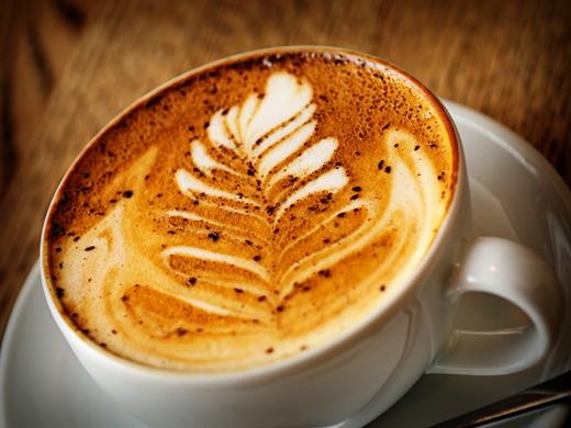 Cappuccino với lớp bọt sữa bên trên (Nguồn: Internet)