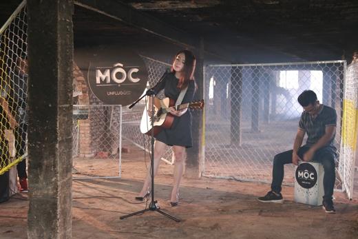 """Thái Trinh cover lại ca khúc """"I See Fire"""" của một trong những giọng ca bùng nổ năm 2014 - Ed Sheeran."""