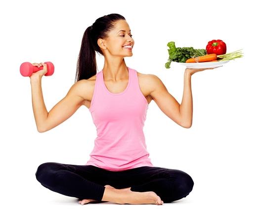 Không quên vận động.Tập thể dục đều đặn đốt cháy calo, mỡ thừa, tăng cường quá trình trao đổi chất.