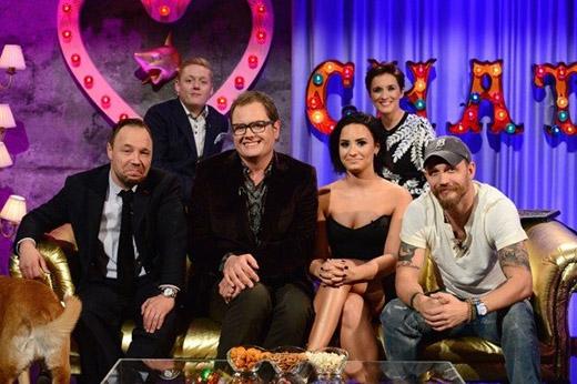 Demi Lovato trên chương trình Chatty Man.