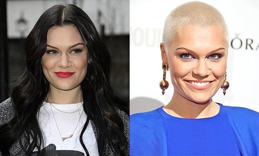 Jessie J đã cạo đầu trong một chương trình truyền hình trực tiếp để gây quỹ cho tổ chức từ thiện vào tháng 3/2013.
