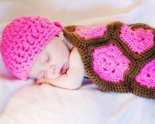 """Thêm một chú """"rùa con"""" màu hồng hồng xinh xinh.(Ảnh Internet)"""