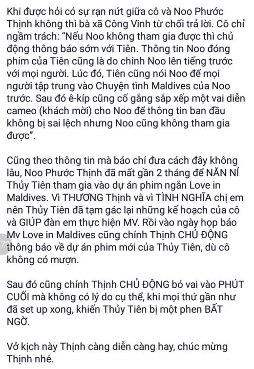 Những lời 'cáo buộc' Noo Phước Thịnh vô ơn... - Tin sao Viet - Tin tuc sao Viet - Scandal sao Viet - Tin tuc cua Sao - Tin cua Sao