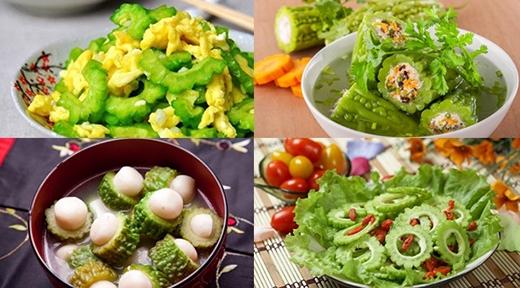 Những món ăn chế biến từ mướp đắng phổ biến
