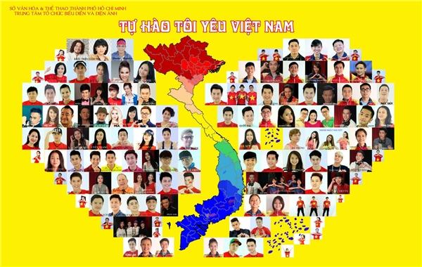 Hơn 100 nghệ sĩ và vận động viên cùng tham gia vào dự án ủng hộ thể thao Việt Nam. - Tin sao Viet - Tin tuc sao Viet - Scandal sao Viet - Tin tuc cua Sao - Tin cua Sao