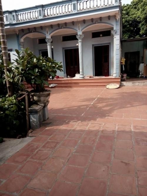 Nhà của nạn nhân Lê Thị L.