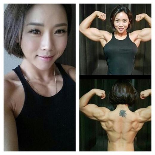 Thân hình cường tráng của Song Naeun