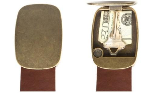 Thắt lưng kiêm dụng cụ để chìa khóa, tiền…(Ảnh Internet)
