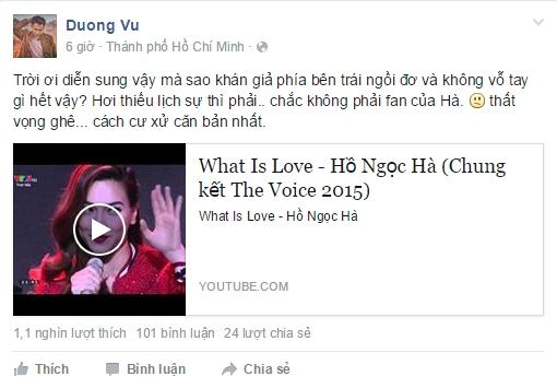 Status bức xúc của Dương Triệu Vũ - Tin sao Viet - Tin tuc sao Viet - Scandal sao Viet - Tin tuc cua Sao - Tin cua Sao