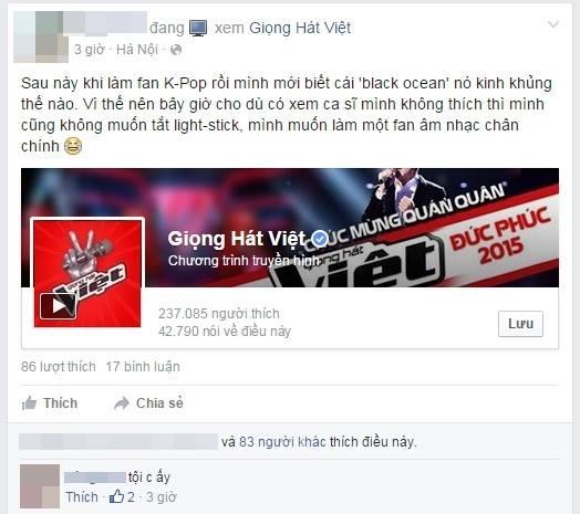 """Một fan kpop lên tiếng về độ kinh khủng của """"biển đen"""". - Tin sao Viet - Tin tuc sao Viet - Scandal sao Viet - Tin tuc cua Sao - Tin cua Sao"""
