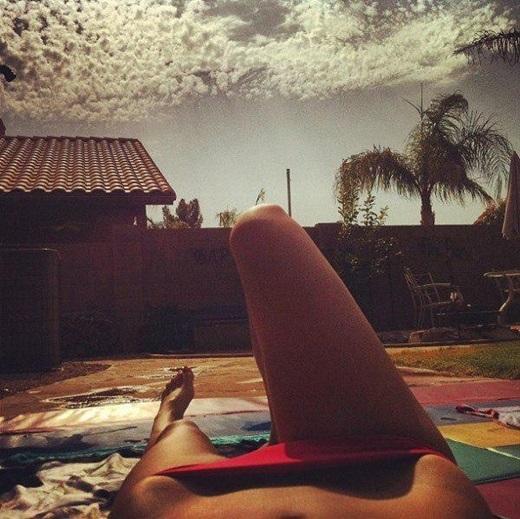 Xu hướng cầu bikini từng gây xôn xao và nhận được sự hưởng ứng nhiệt tình từ phái đẹp. (Ảnh: Internet)