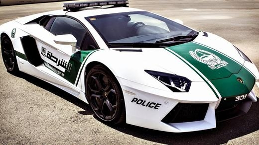 Cảnh sát cũng được trang bị siêu xe để làm nhiệm vụ. (Ảnh: Internet)