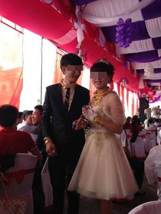 Niềm hạnh phúc bất tận của đôi vợ chồng trẻ trong ngày cưới.(Nguồn: Internet)